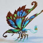Fantasy Giant Butterfly