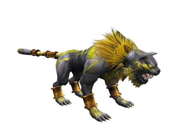 Bestia tigre de fantasía