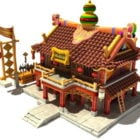 Fantasy Ancient Chinese House
