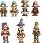 Fantasy Anime 7 Characters