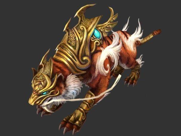 شخصية النمر المحارب