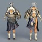 Female Demon Armor