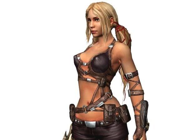 Female Treasure Hunter Character