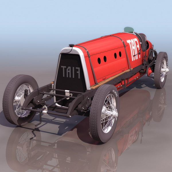 Fiat Mefistofele Racing Car