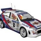 سباق السيارات فورد فوكس روبية Wrc