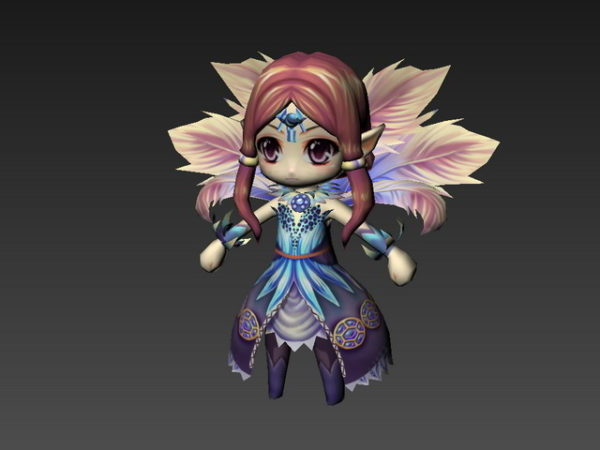 Forest Fairy Character