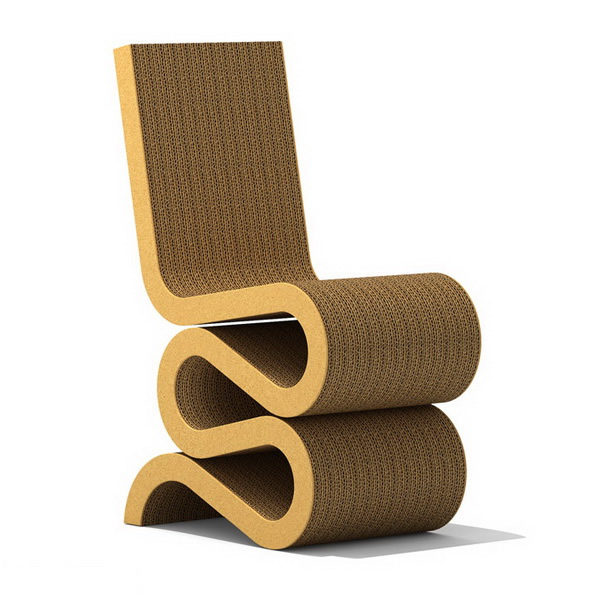Frank Gehry Wiggle Side Chair