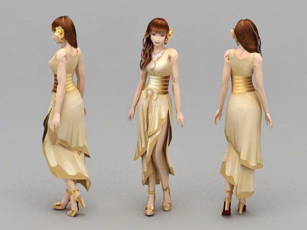 Girl Formal Dresses Character