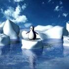 Glacier Penguin