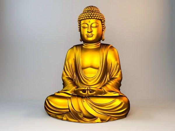 Estatua de Buda de oro