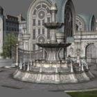 Gotik Şehir Binası Sahnesi
