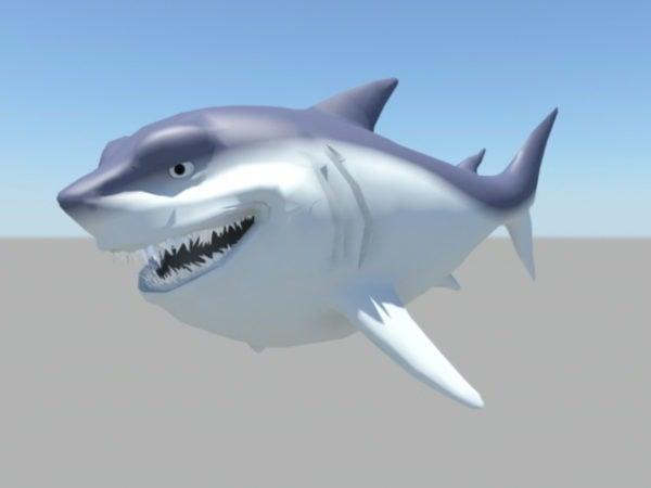 سعيد القرش الكرتون
