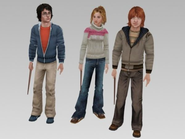 Realistiset Harry Potter -hahmot