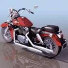 Honda Shadow Cruiser Motorcycle