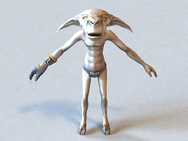 Humanoid Alien Character
