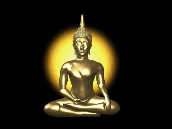 Estatua de Buda indio