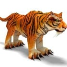 Indochinese Tiger Animal