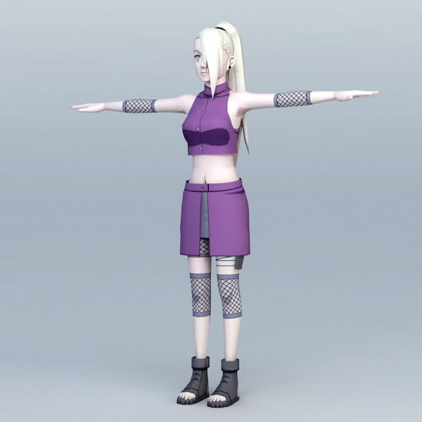Ino Yamanaka Naruto Free 3d Model Max Vray Open3dmodel 114453 ナルト) manga and anime series features an extensive cast of characters created by masashi kishimoto. ino yamanaka naruto free 3d model