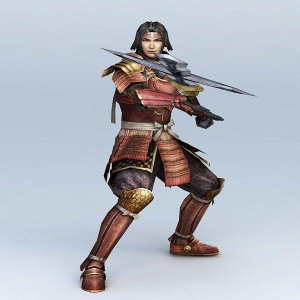 اليابانية الساموراي المحارب