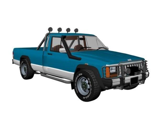 Camioneta Jeep Comanche