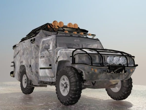 Vehículo todoterreno Jeep