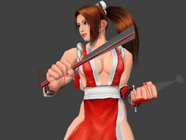 Kof – Mai Shiranui Character