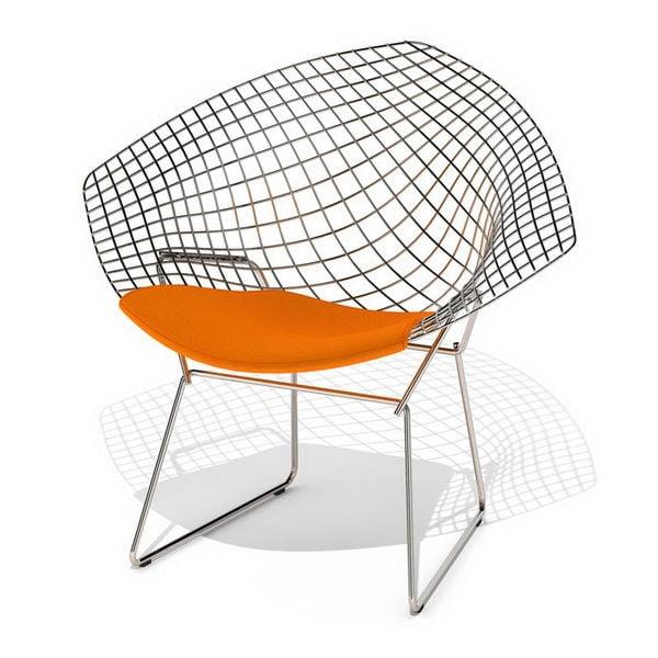 Furniture Knoll Bertoia Wire Diamond