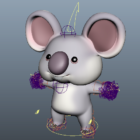Koala Bear Cartoon Character