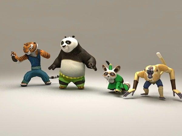 Personajes de Kung Fu Panda