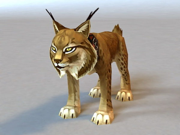Leopard Cat Rigged