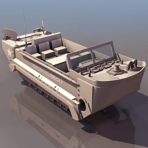 M29c Water Weasel Amphibious Tracked Vehicle