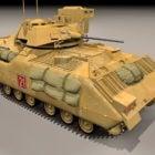 M2a2 Bradley Kampffahrzeug