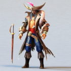 Male Pirate Captain