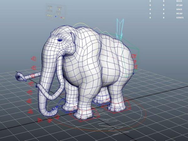 Aparejo de mamut animal