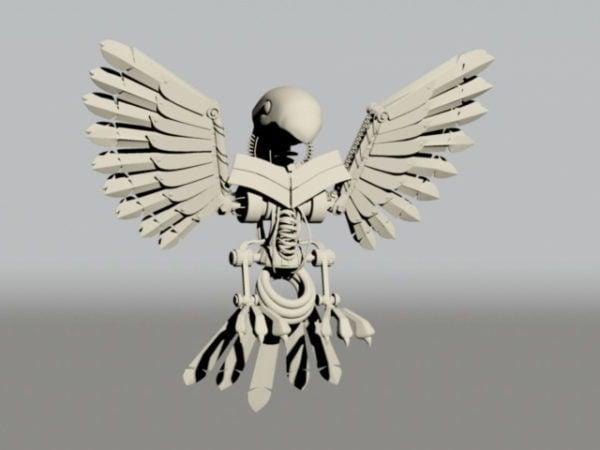 Pájaro mecánico