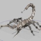 Mechanisches Skorpiontier