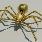 Roboter mechanische Spinne Charakter