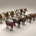 Ortaçağ Savaş Atları Koleksiyonu