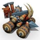 Medieval Fantasy Catapult
