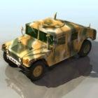 Militär Hummer Fahrzeug
