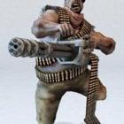 Minigun Soldat