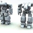Mobil Takım Elbiseleri Savaş Robotu Karakteri