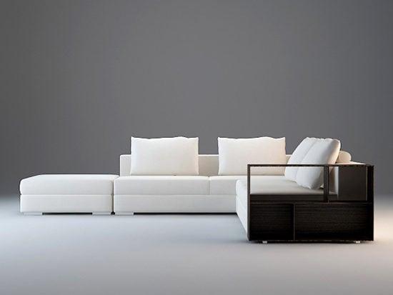 Modular Fabric Sectional Sofa