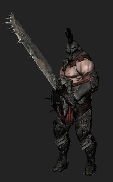 Mohawk Warrior – Animated & Rigged
