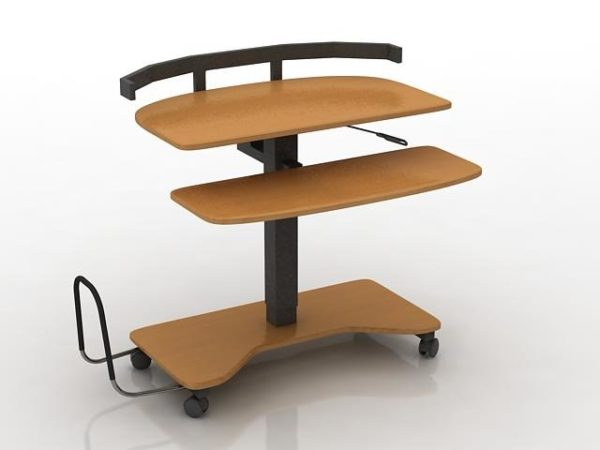 Siirrettävä kannettava pöytä