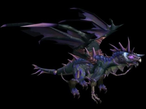 Onyxia Dragon Rig Character