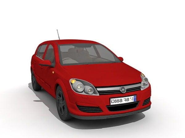 Opel Astra Punainen