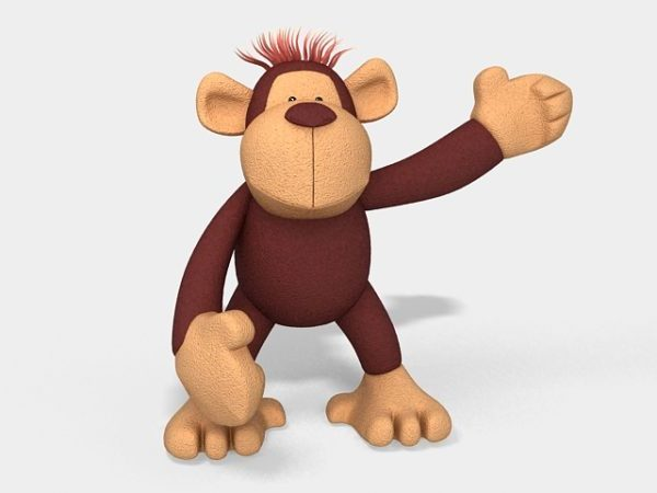 Orangutan Stuffed Animal Toy