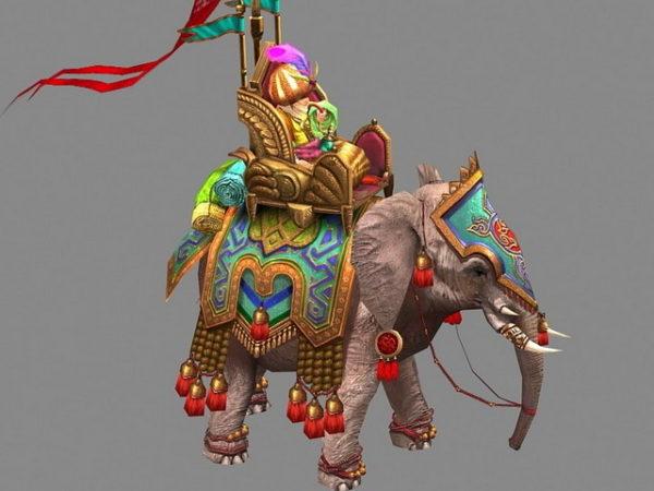 Persian valtakunnan sota-norsu