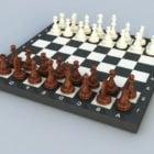 駒チェスセットとボード